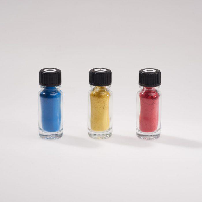 3 Pigmentpulver – Bauhaus