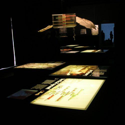 Ausstellung zum Bau der A71/73