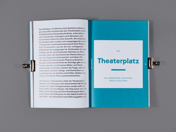 Weimar – Theaterplatz