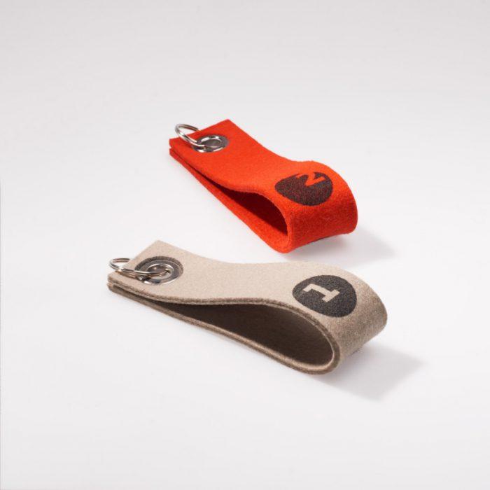 Schlüsselbund – Filz Schlaufe
