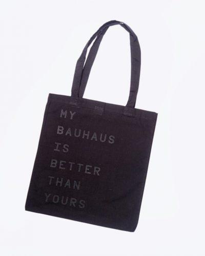 My Bauhaus Beutel – Schwarz