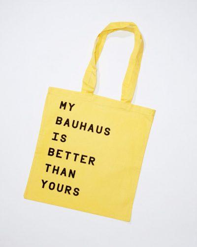 My Bauhaus Beutel – Gelb