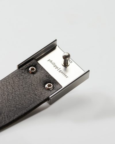 Ledergürtel – Quadrat
