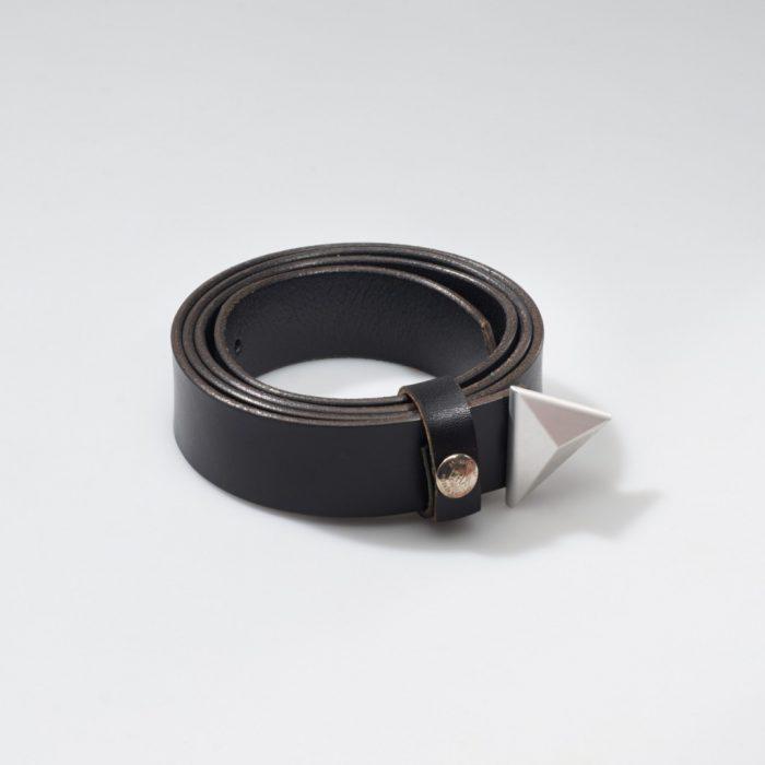 Ledergürtel – Dreieck